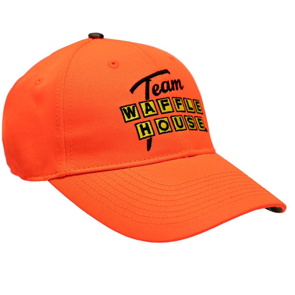 Team Waffle House Blaze Cap Front