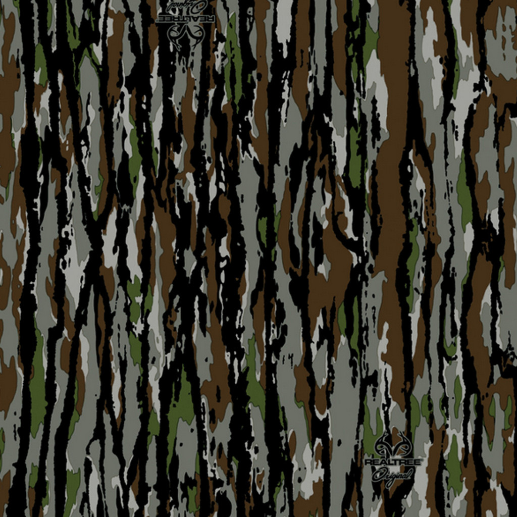 Realtree Camo Large Perforated Window Film Original