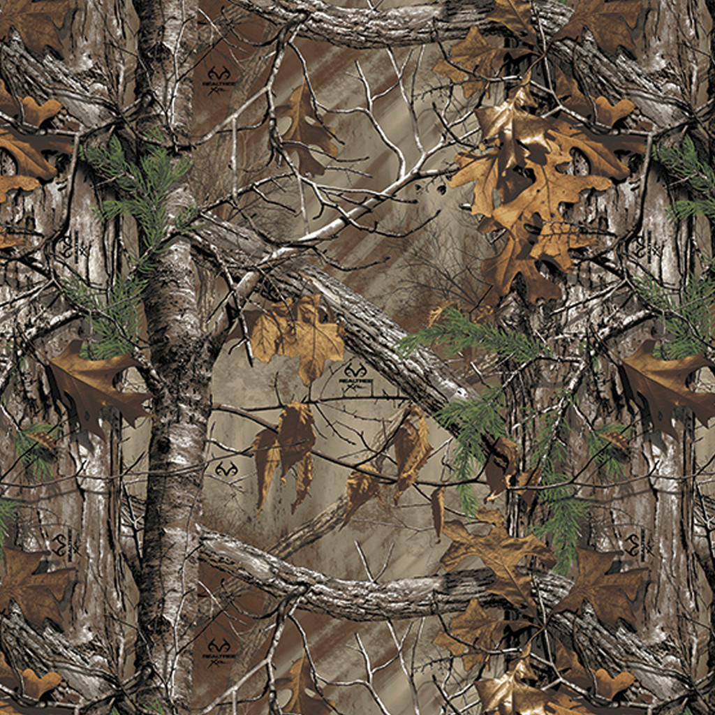 Realtree Camo Large Perforated Window Film Xtra