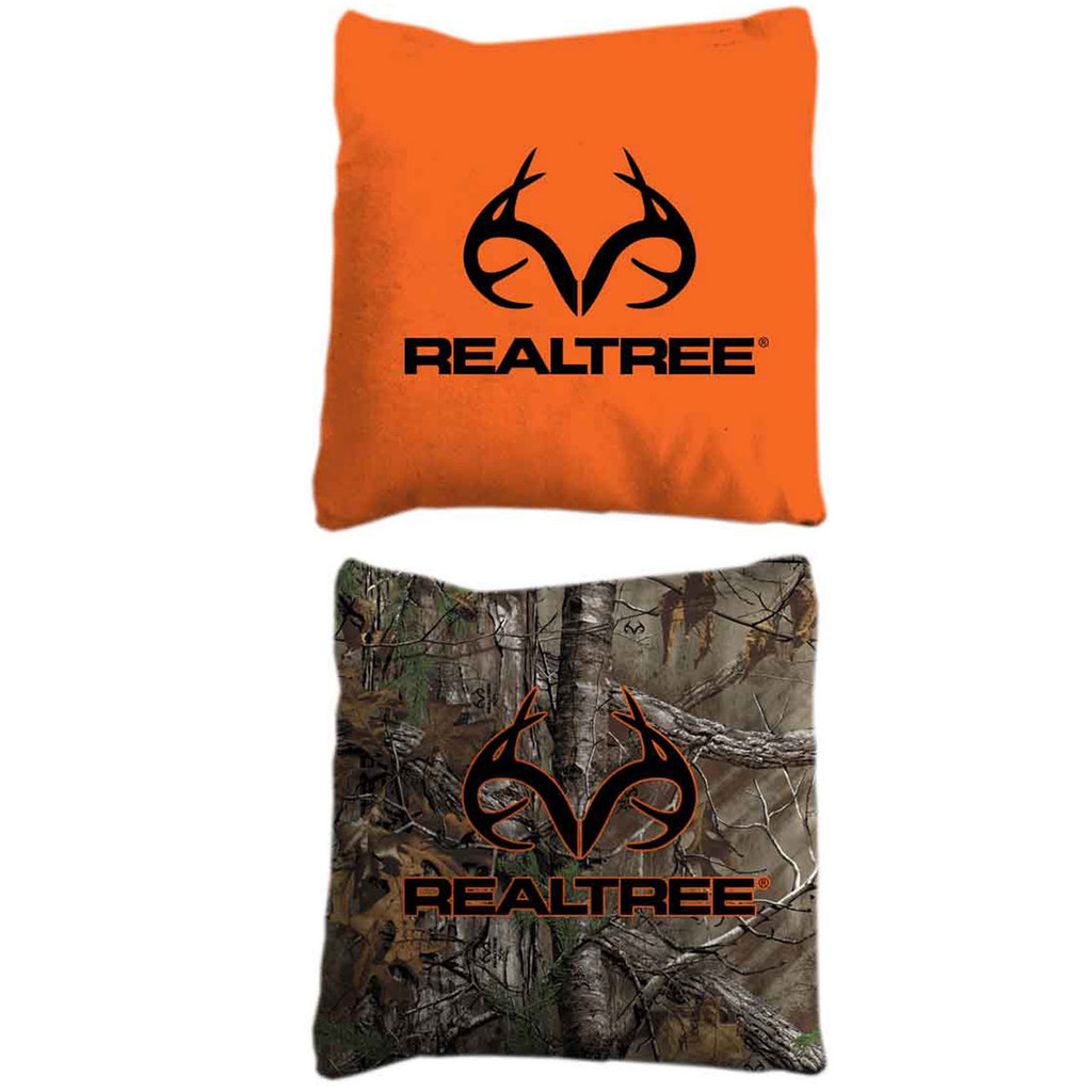 Realtree Corn Hole Orange and Xtra Bags