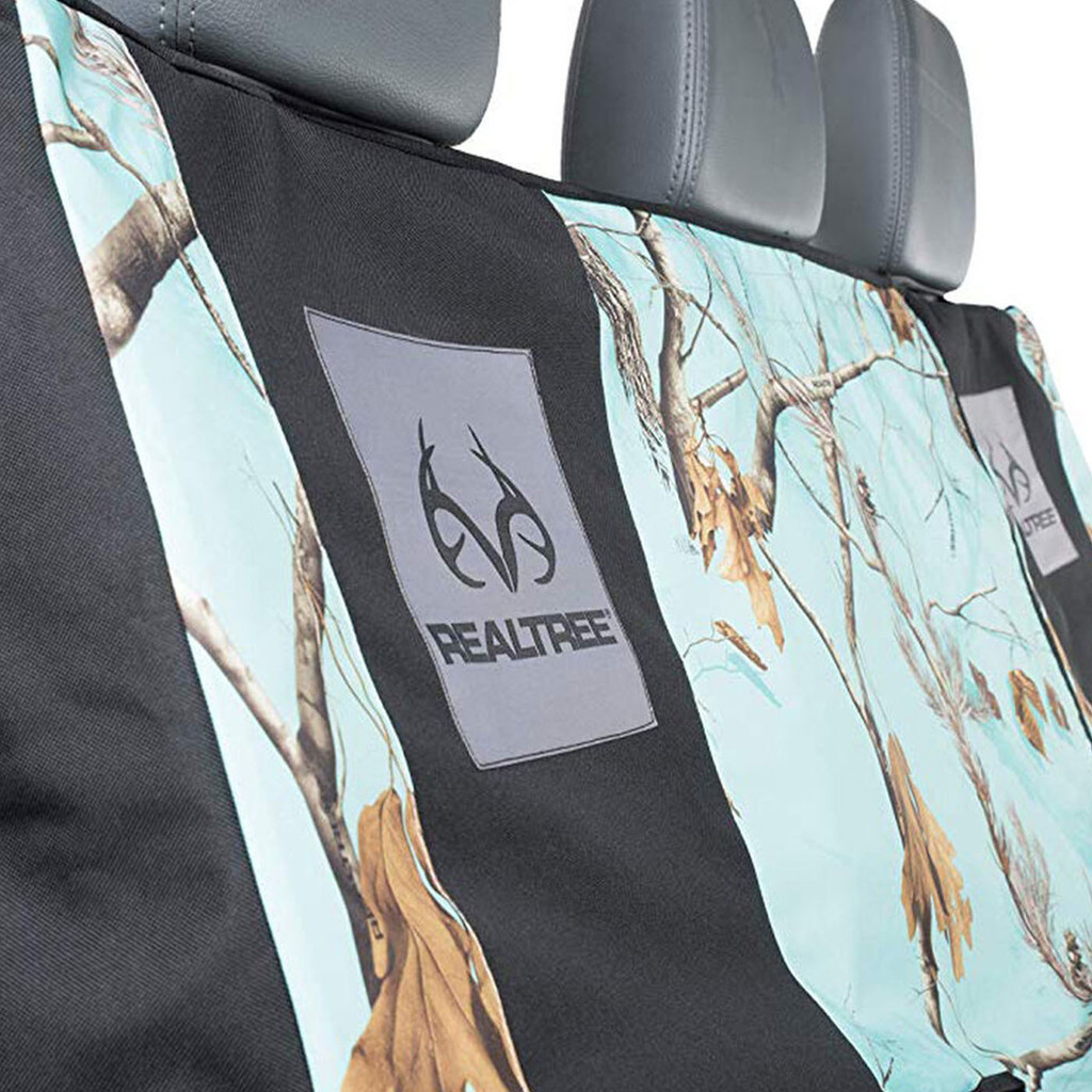 Realtree Mint Camo Switch Back Bench Seat Cover Middle Area