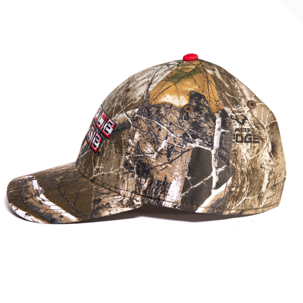 Waffle House Edge Camouflage Patriotic Logo Hat Side
