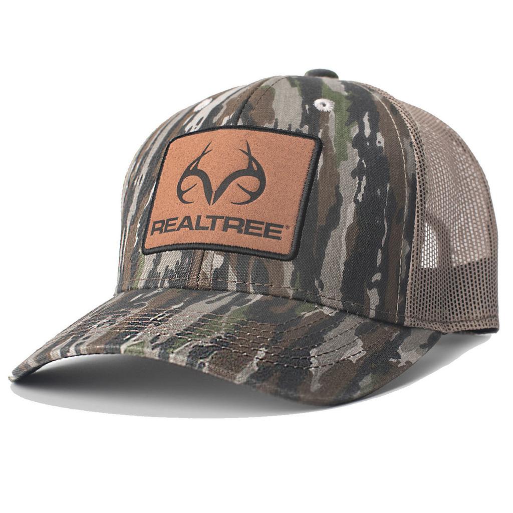 Realtree Original Camo Suede Patch Hat  4d521b0c3a0