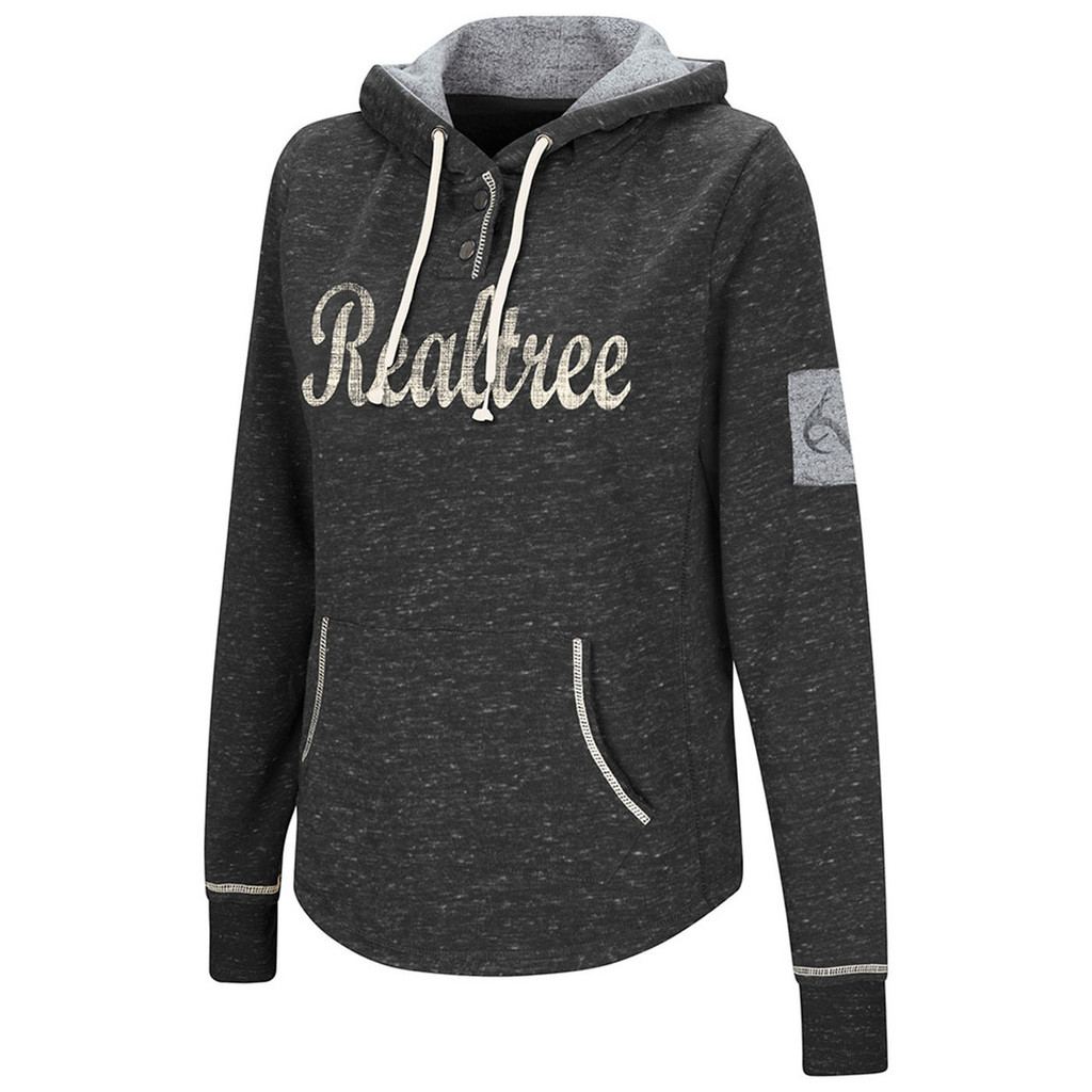 Realtree Women's Speckled Black Hoodie