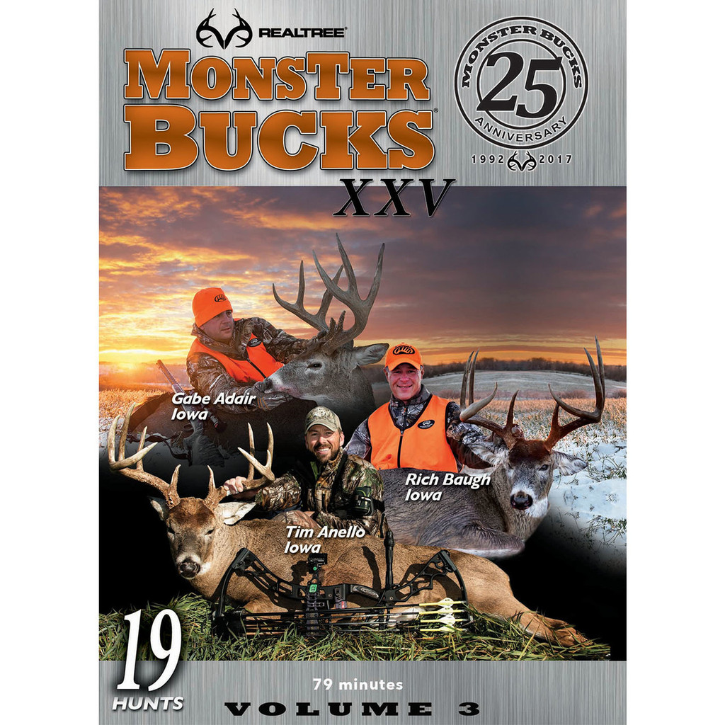 Digital Download Monster Bucks XXV, Volume 3 (2017 Release)