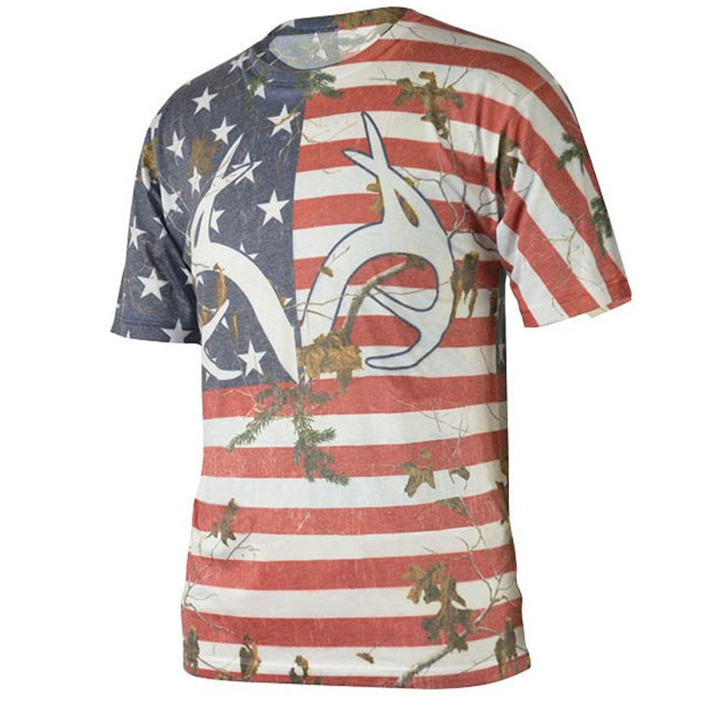 Realtree Men's Camo Independence Tee Image