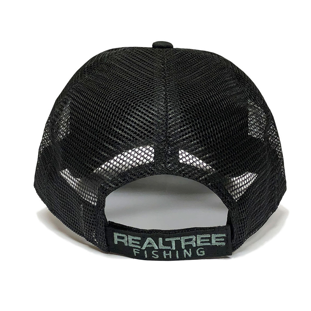 Realtree Fishing 3D Logo Black Hat