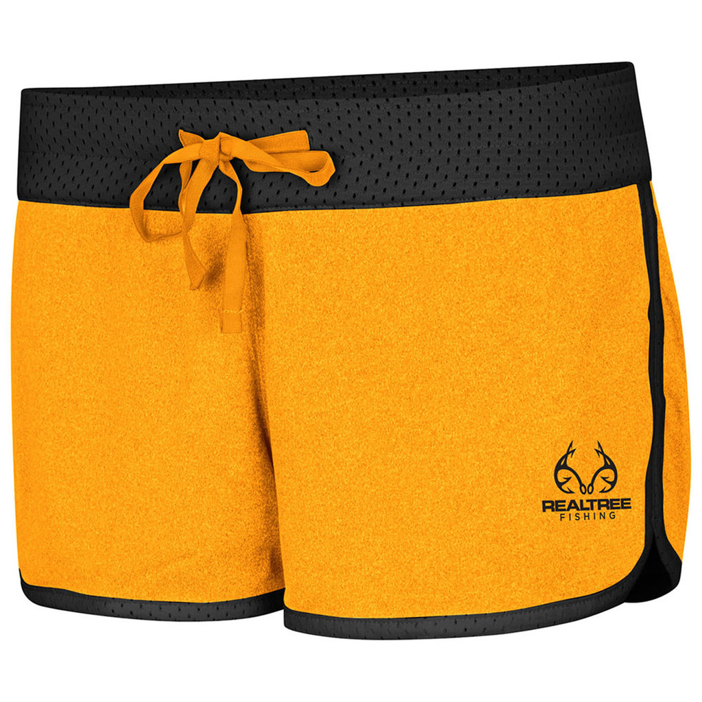 Women's Active Reversible Shorts yellow