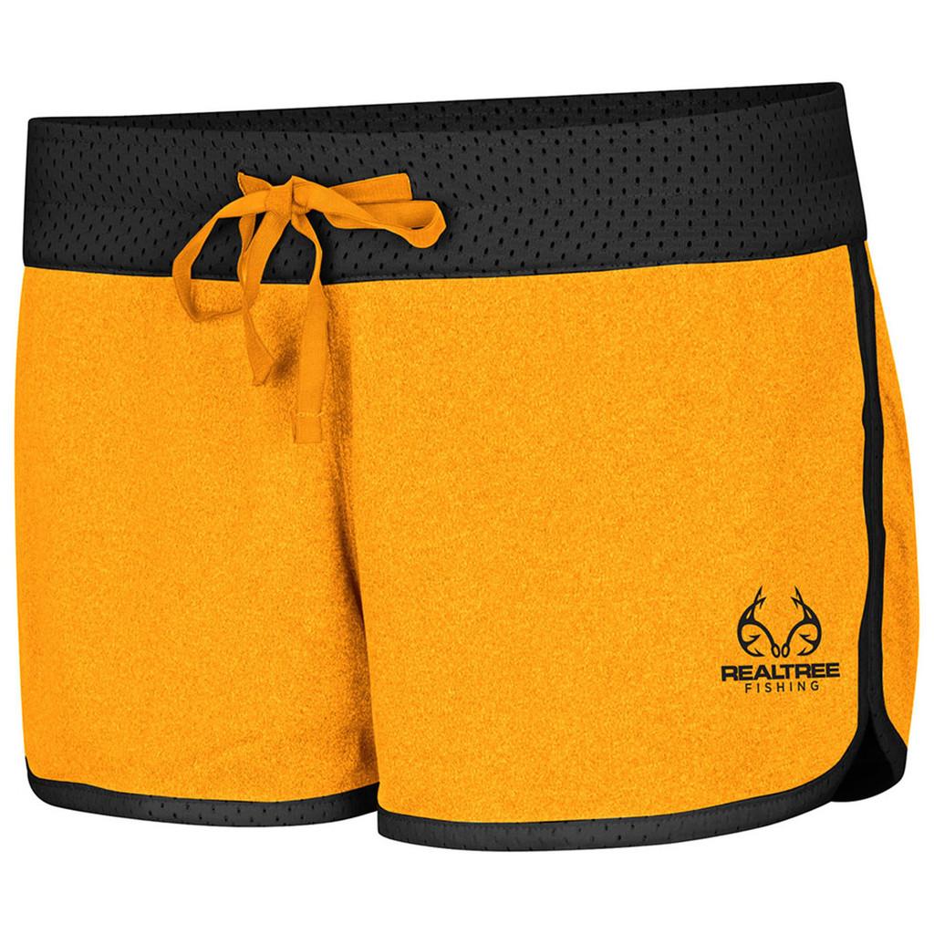 Women's Active Reversible Shorts yellow