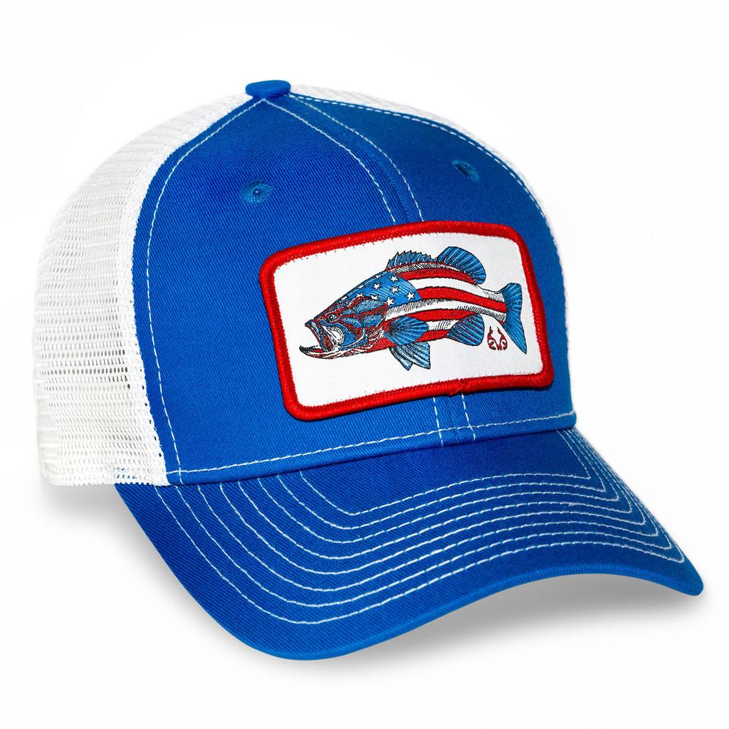 Realtree Fishing AmeriBass Mesh Back Hat