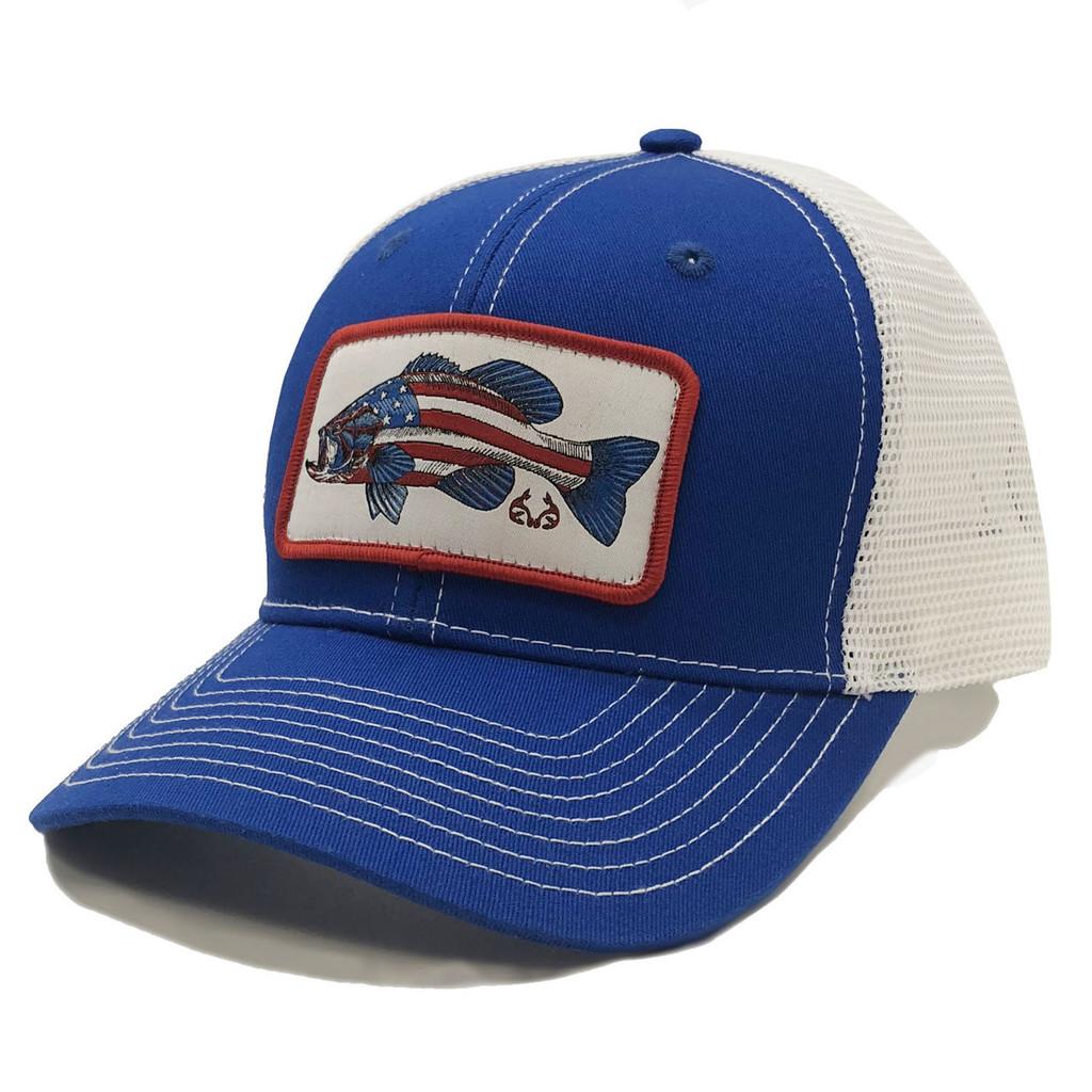 Realtree Fishing AmeriBass Mesh Back Hat Front