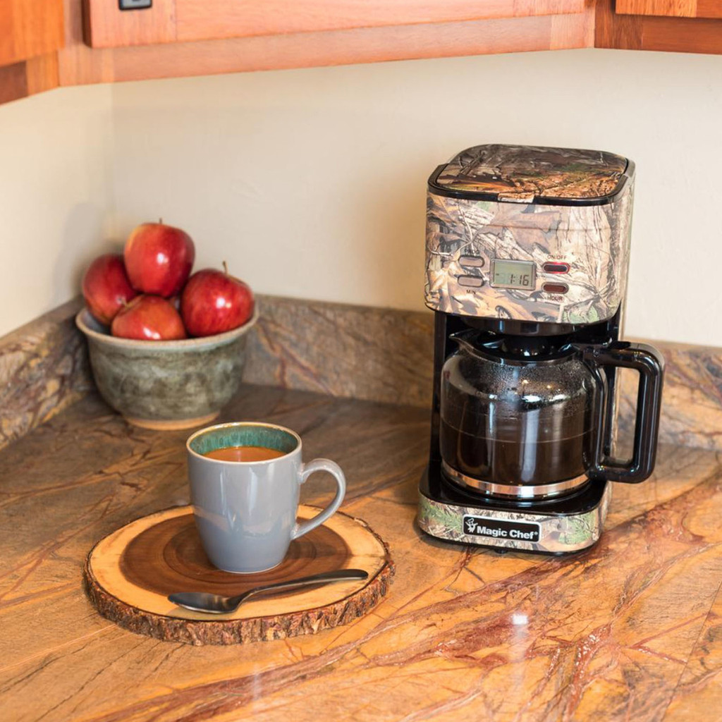 Magic Chef 12 Cup Coffee Maker in Use