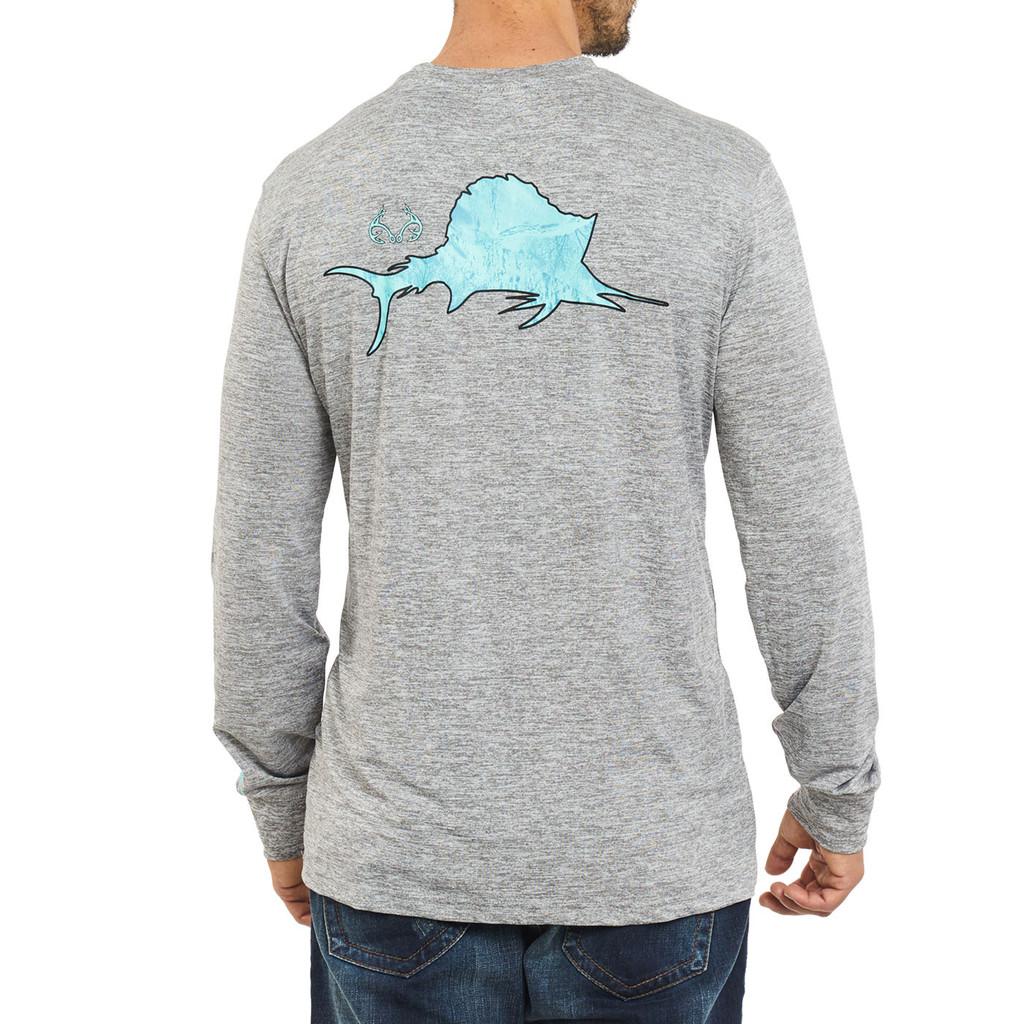Men's Fishing Offshore Performance Long Sleeve Shirt