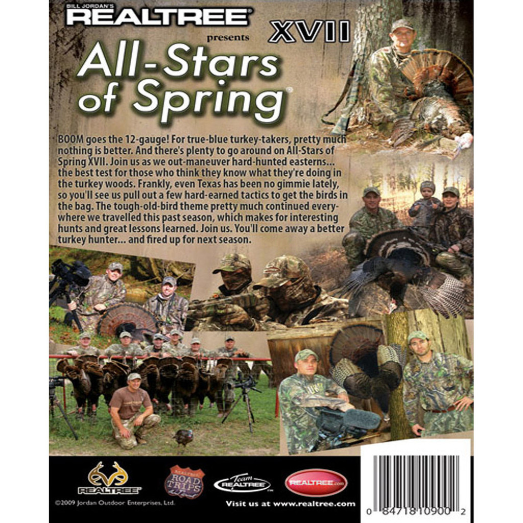 Digital Download All-Stars of Spring XVII (2010 Release) Back