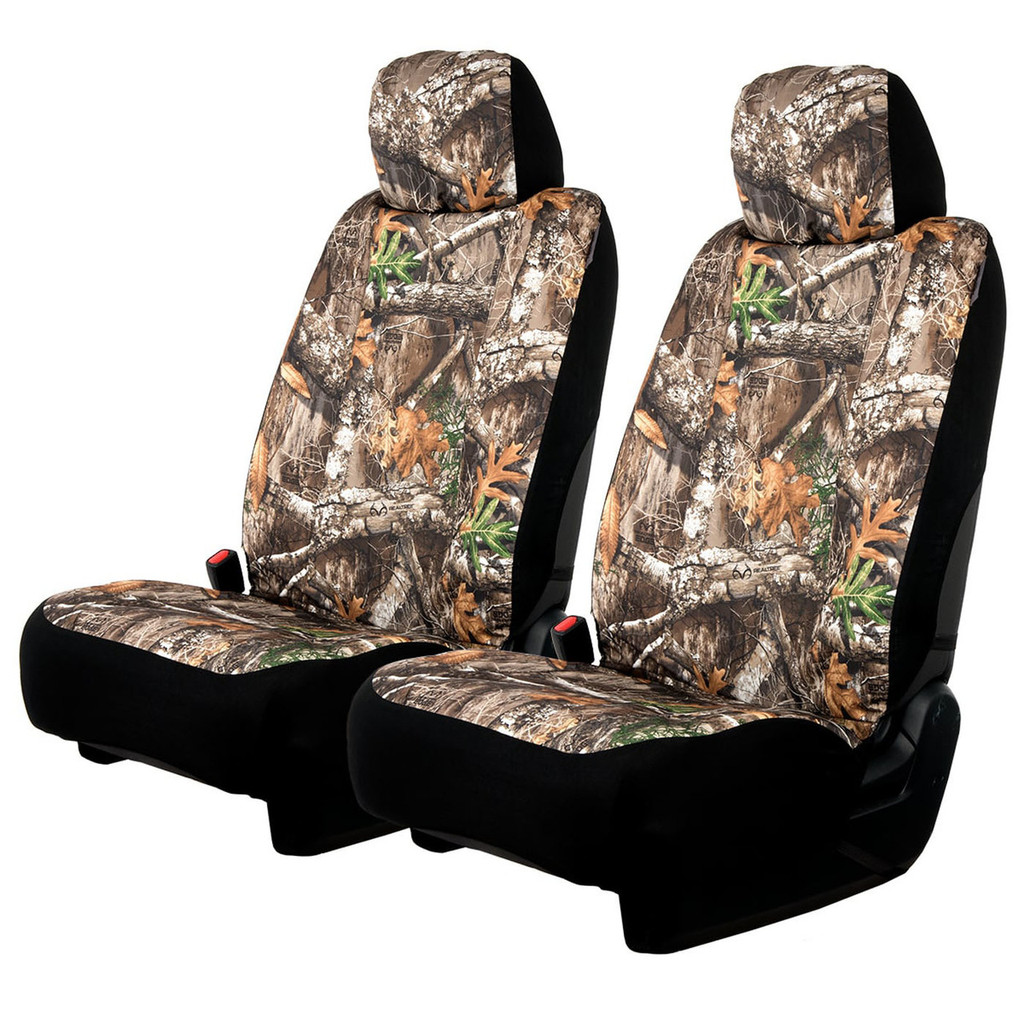 Premium Camo Seat Covers for Cars Realtree Low Back Seat Covers and SUVs Trucks