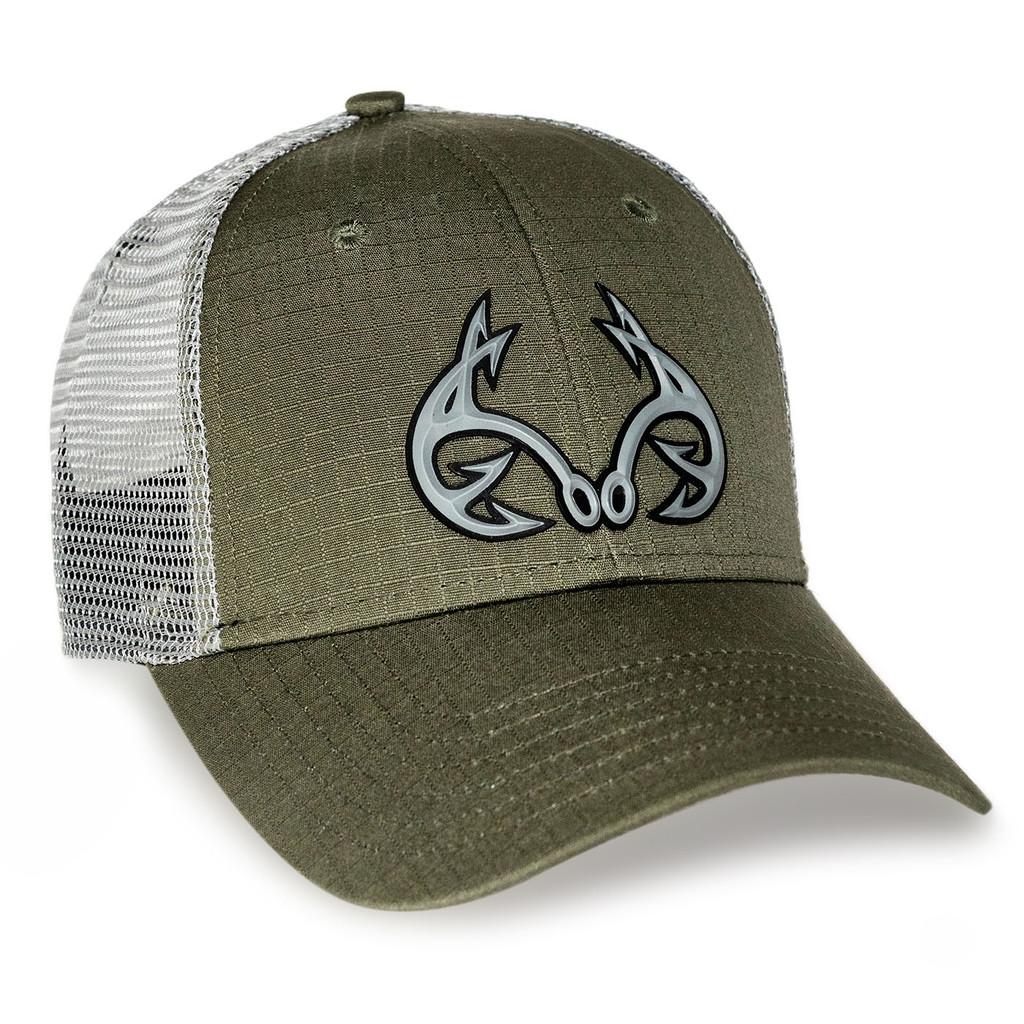 Realtree Fishing Green Tactical Mesh Back Hat
