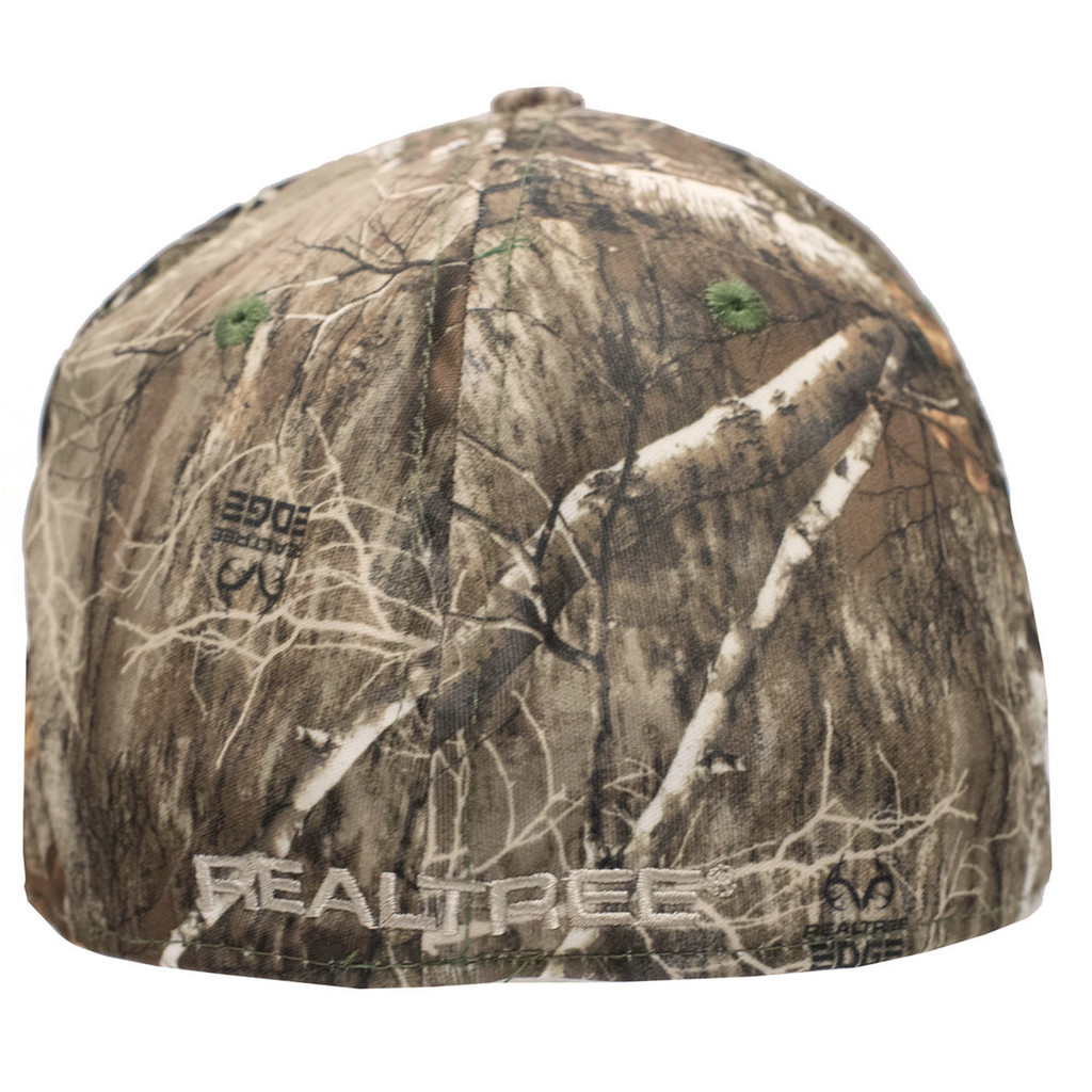 Realtree Edge Performance Fitted Hat Back