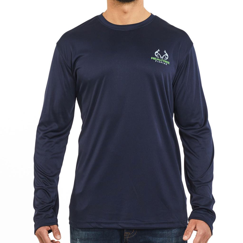 Lakeside Performance Long Sleeve Shirt Front