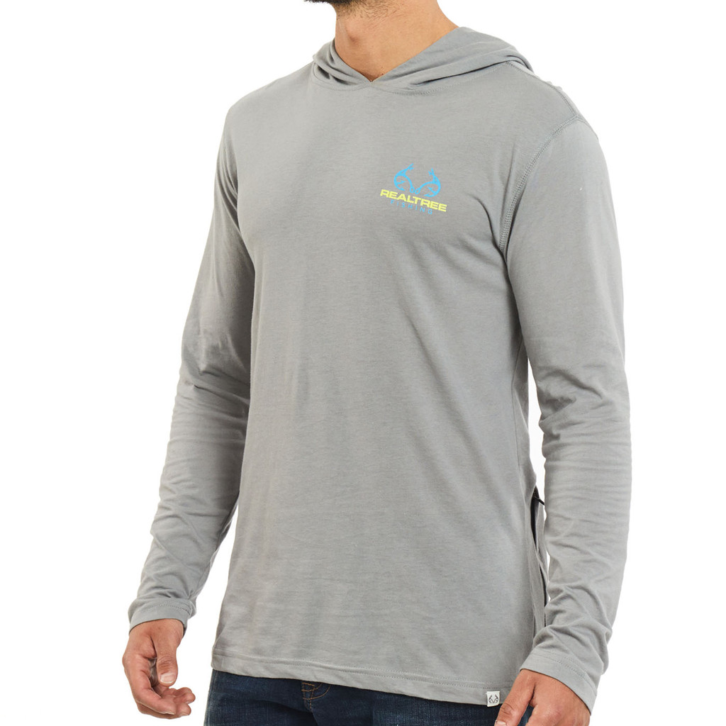 Mahi Performance Long Sleeve Hooded Shirt Front