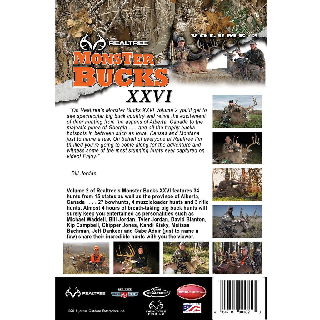 Monster Bucks XXVI Volume 2 (2018 Release) Back