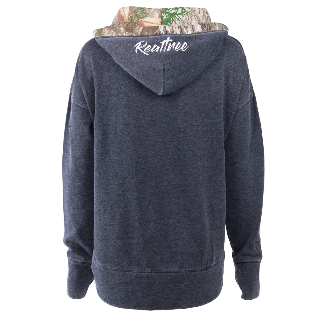Realtree Women's Renue Lace-Up Sweatshirt  Back Image