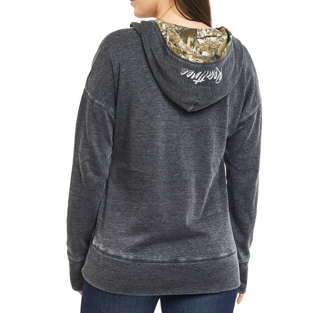 Realtree Women's Renue Lace-Up Sweatshirt Back
