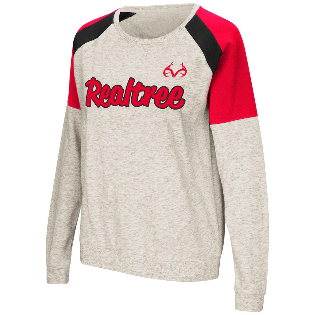 Women's Crewneck Fleece Sweatshirt Image