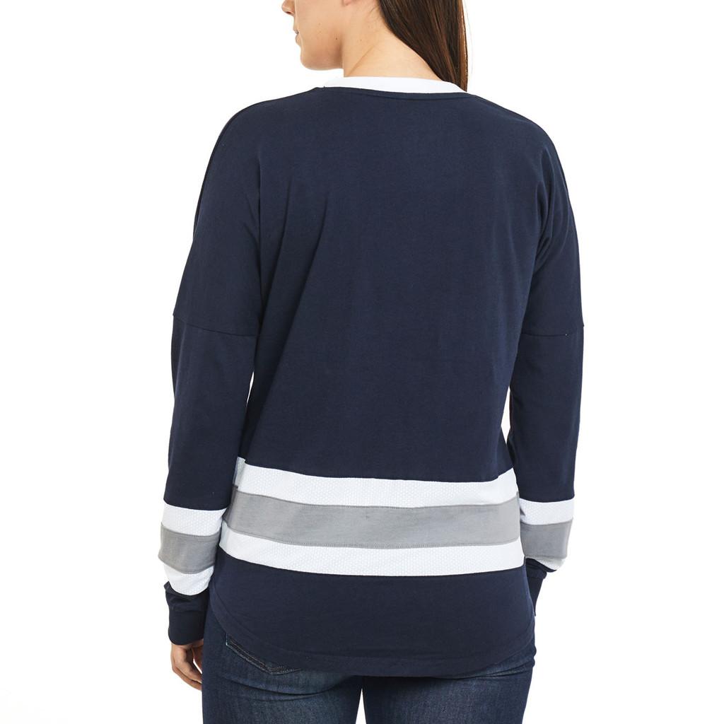 Women's Oversized Long Sleeve Shirt Back
