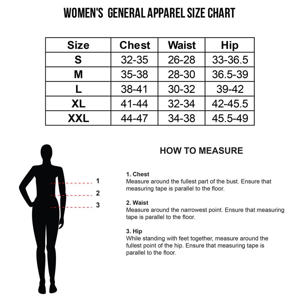 Women's Size Chart