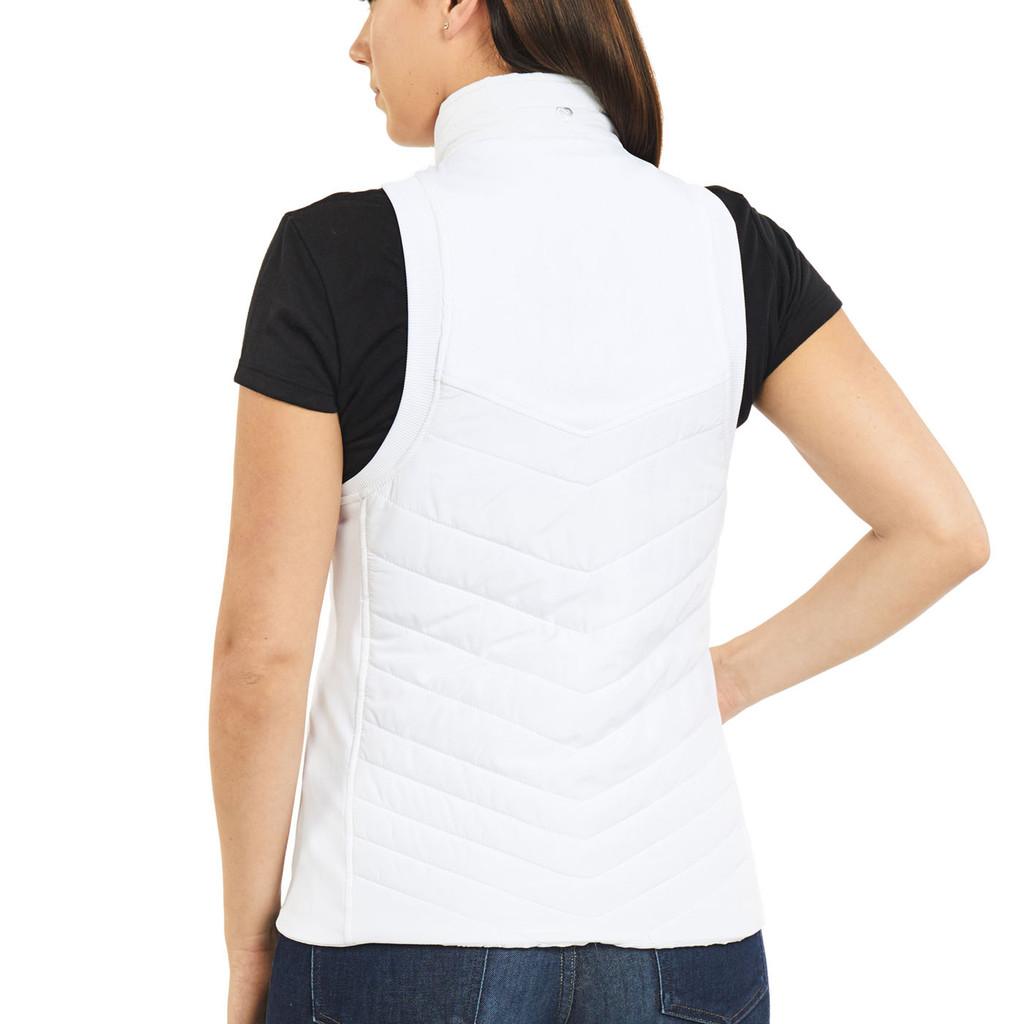 Women's Pro Level Quilted Vest Back