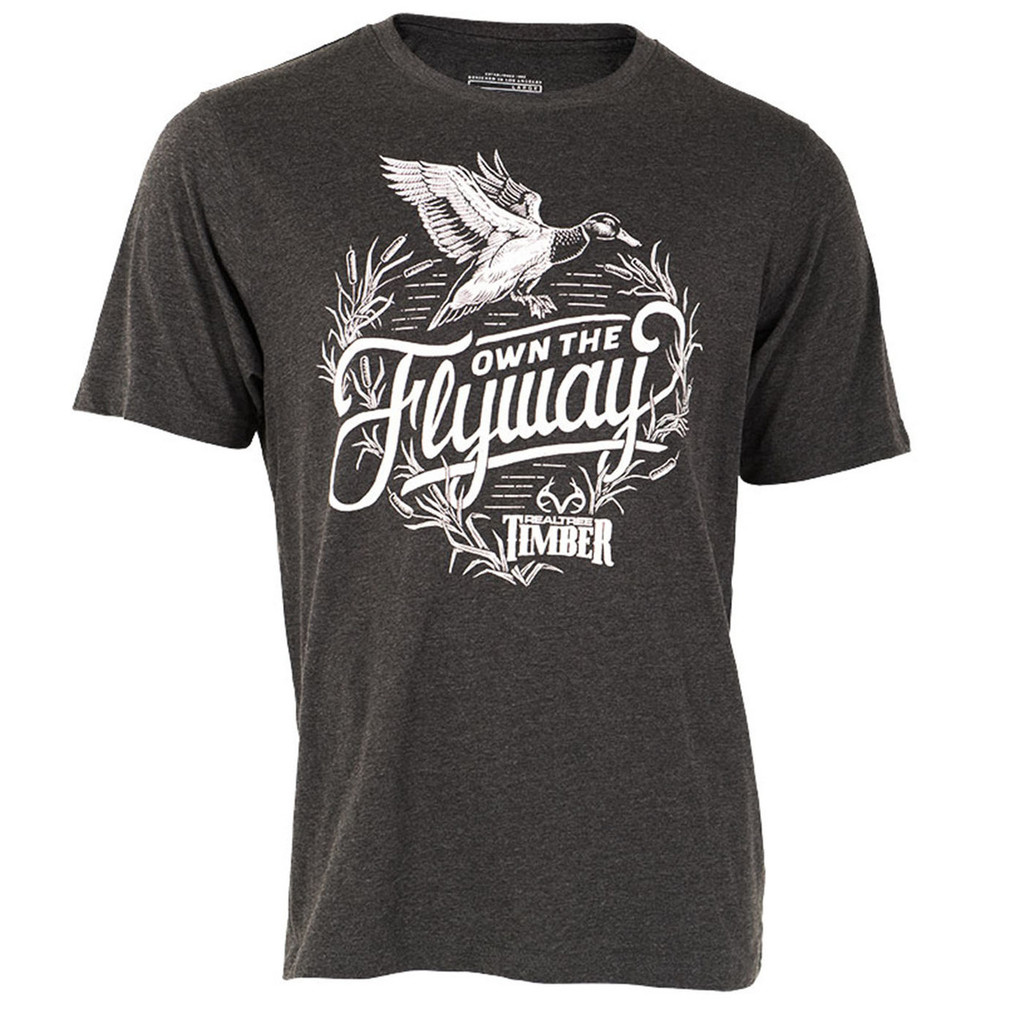 Realtree Own the Flyaway Short Sleeve Shirt Duck