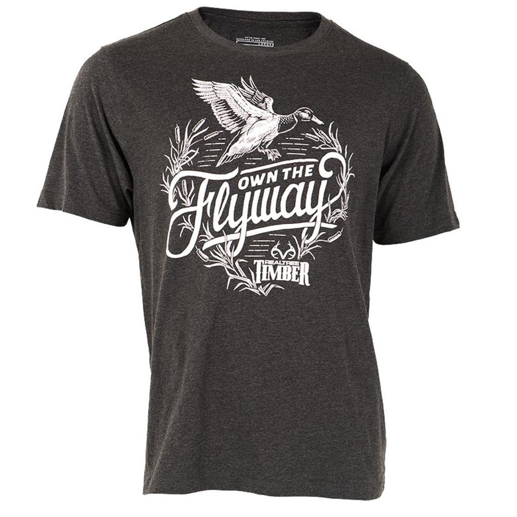 Realtree Own the Flyaway Short Sleeve Shirt Duck
