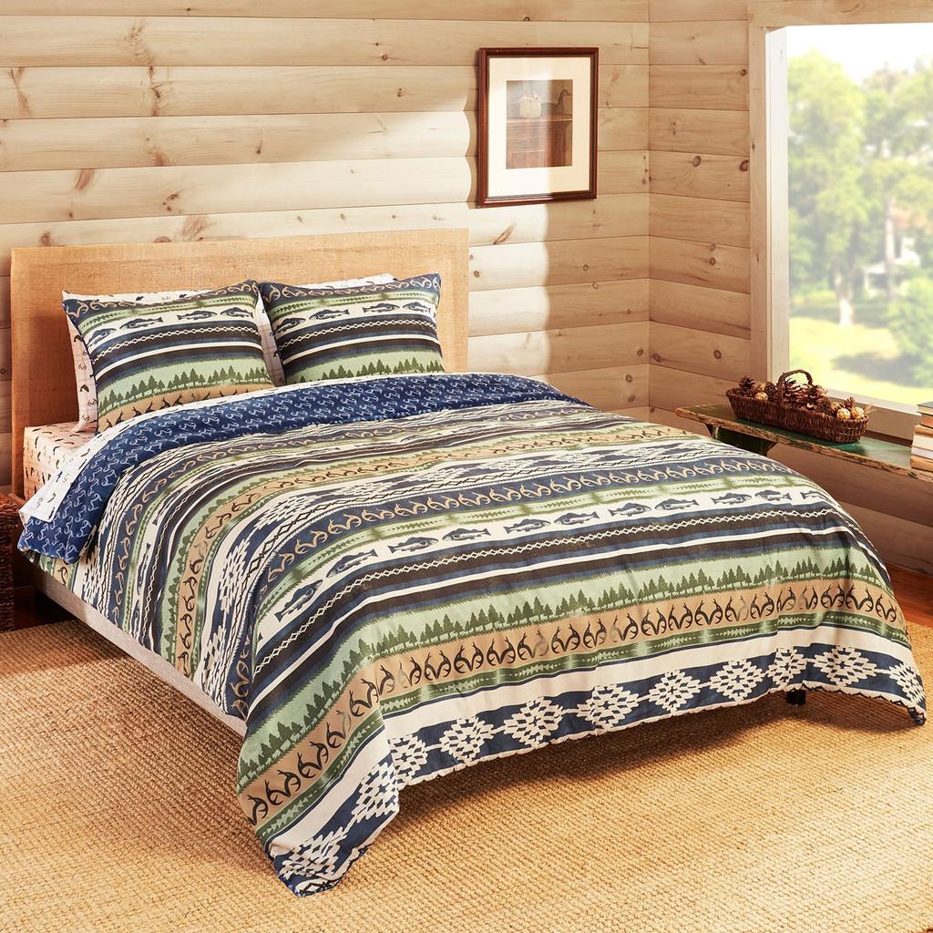 Realtree Lakeland Fishing Comforter Set