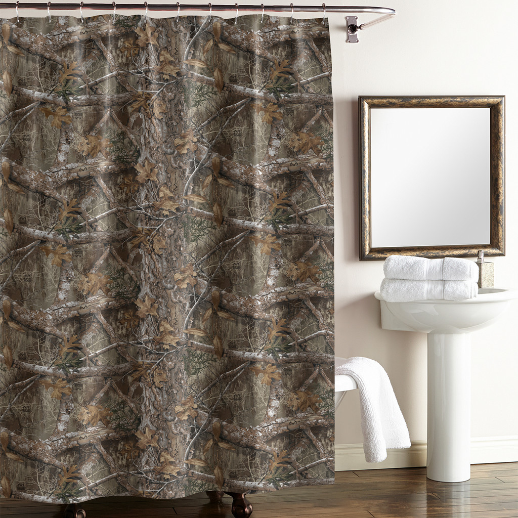 Realtree Edge Camo Shower Curtains