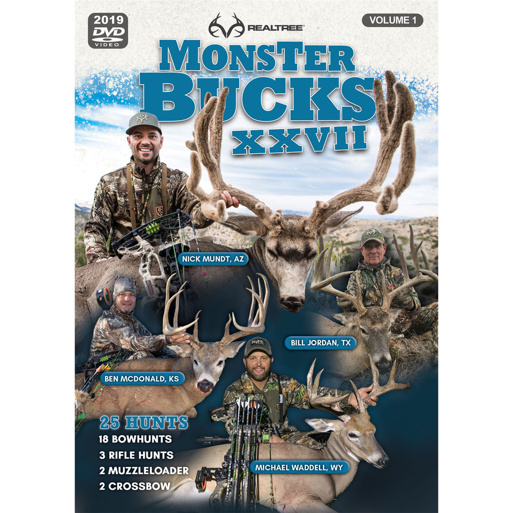 Monster Bucks XXVII Volume 1 (2019 Release)