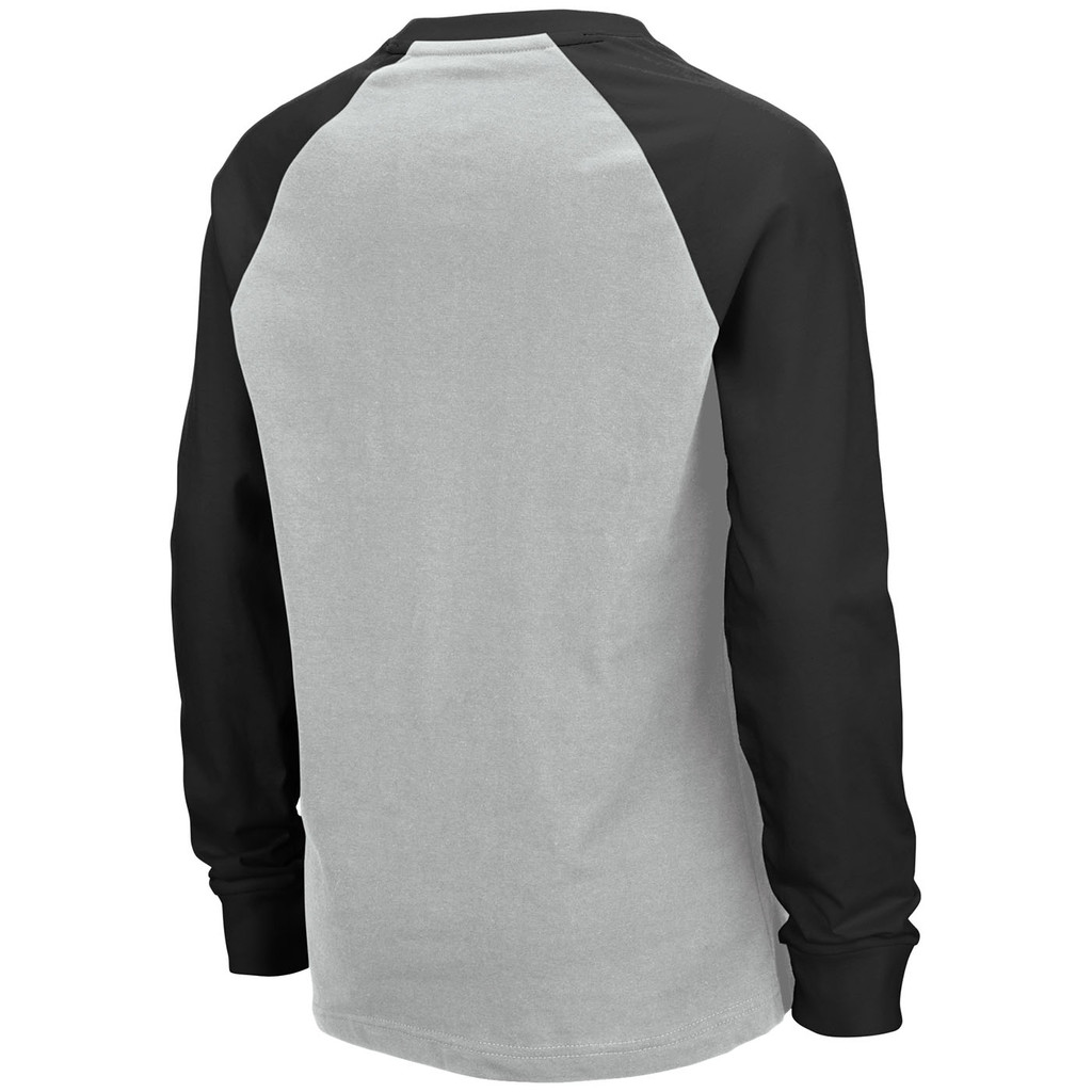 Boy's Long Sleeve Raglan Shirt Back