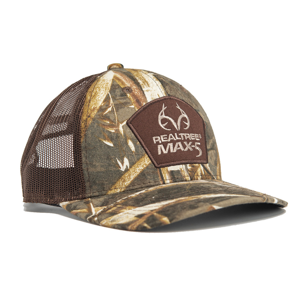 Realtree Pro Staff Mesh Back Hat in Max-5