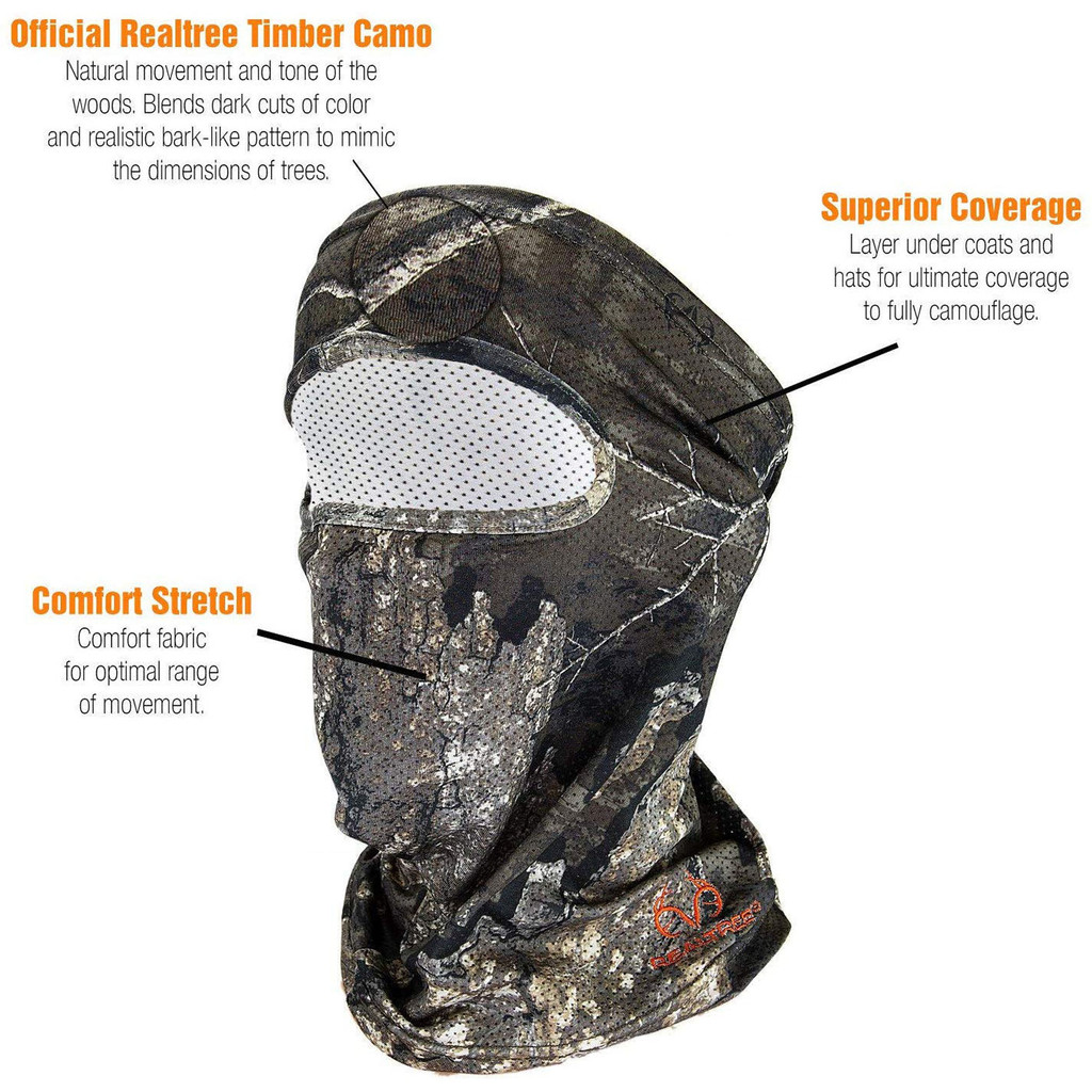 Pro Performance 3/4 Facemask Details