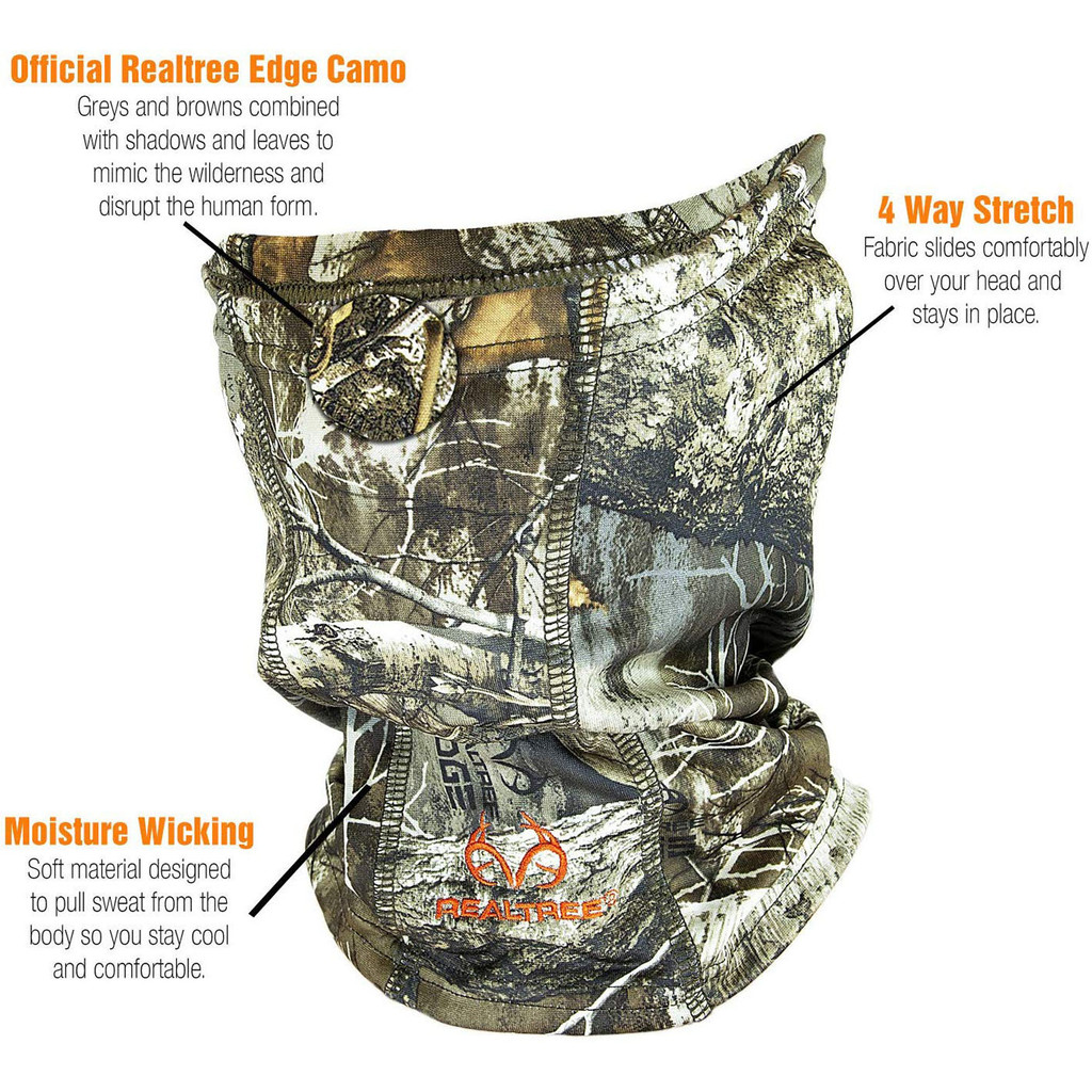 Pro Performance Neck Gaiter Edge Information