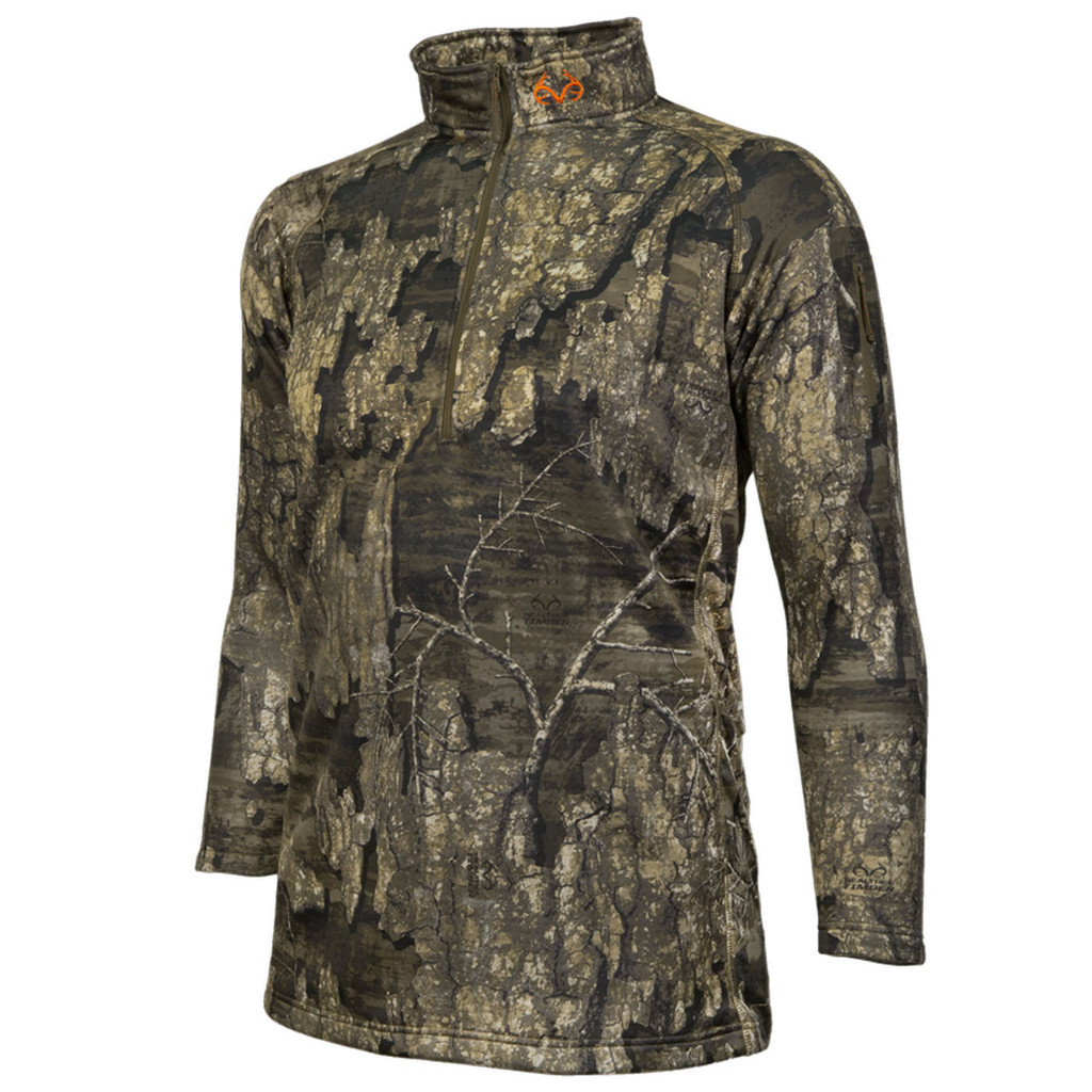 Timber Camo Pro Performance Element Osprey 1/4 Zip