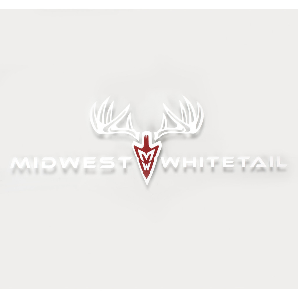 MidWest Whitetail Large Decal