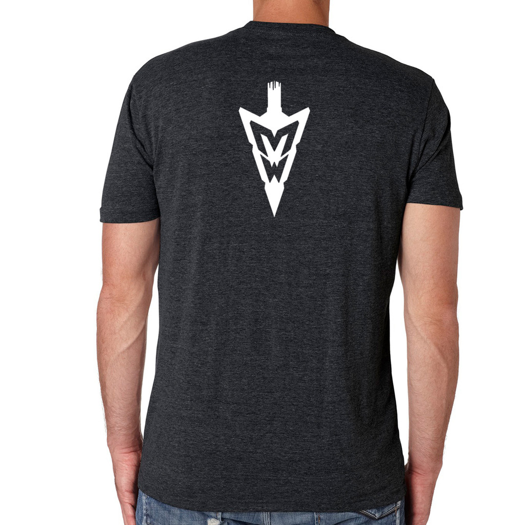 MidWest Whitetail Signature Series Two Tee Black Back