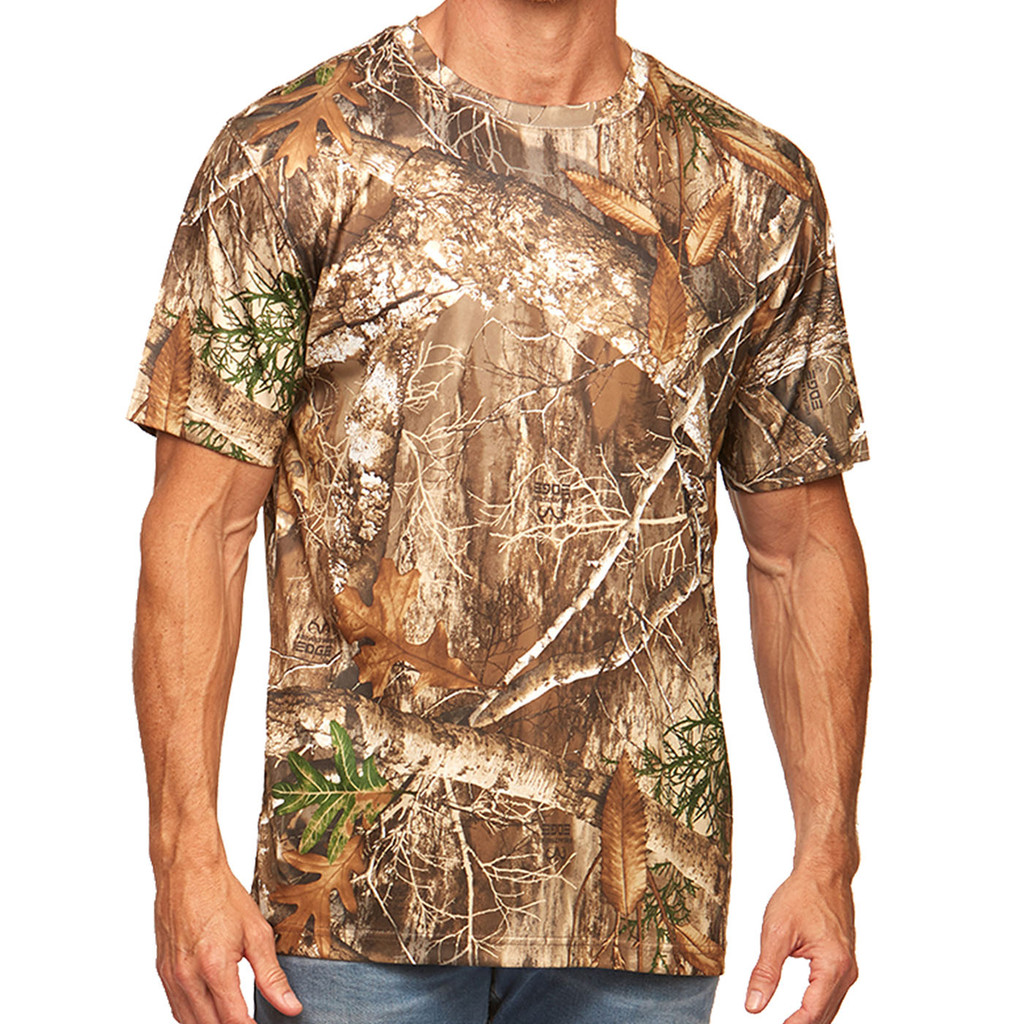 Men's Realtree Edge Short Sleeve Shirt