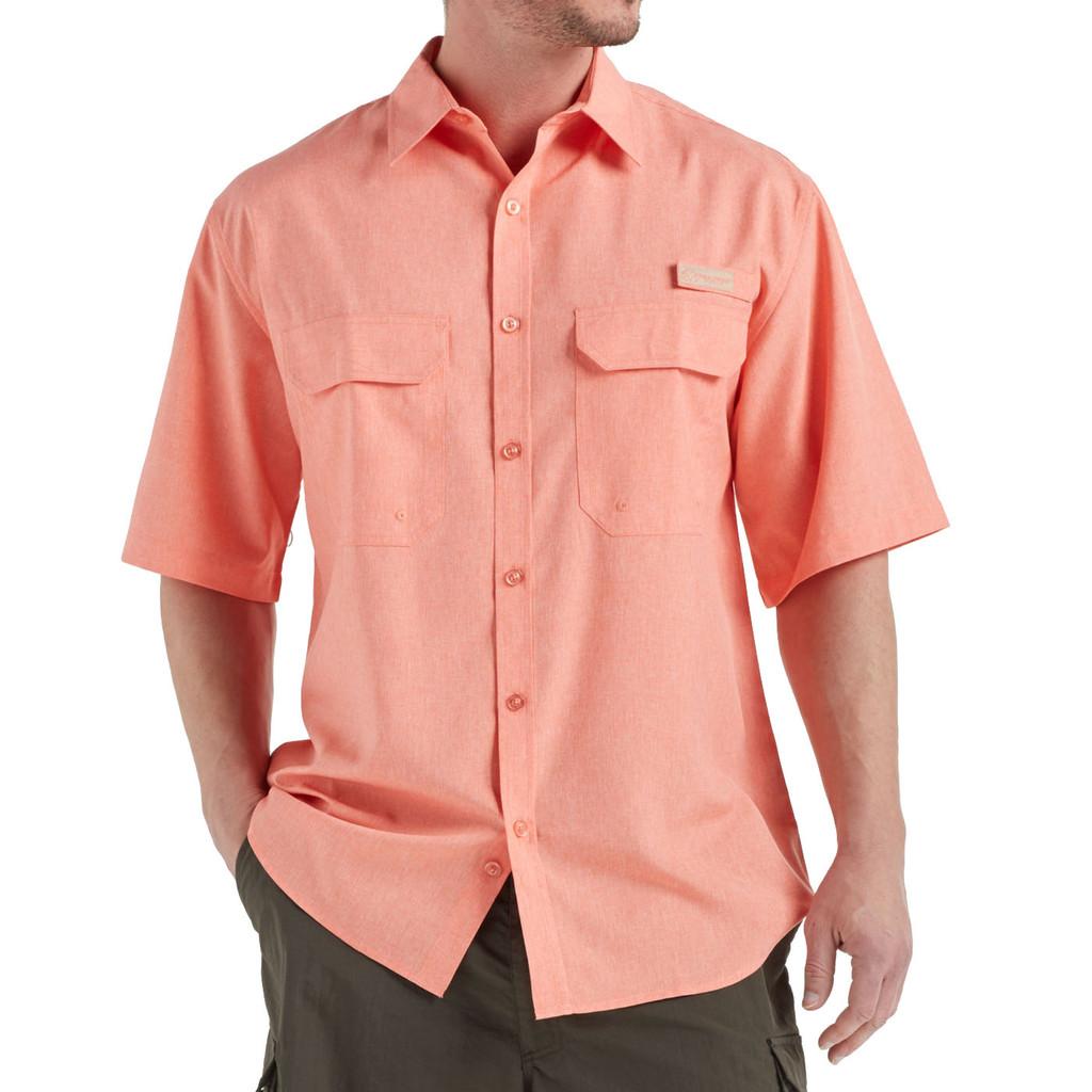 Men's Fishing Angler Fishing Shirt Orange