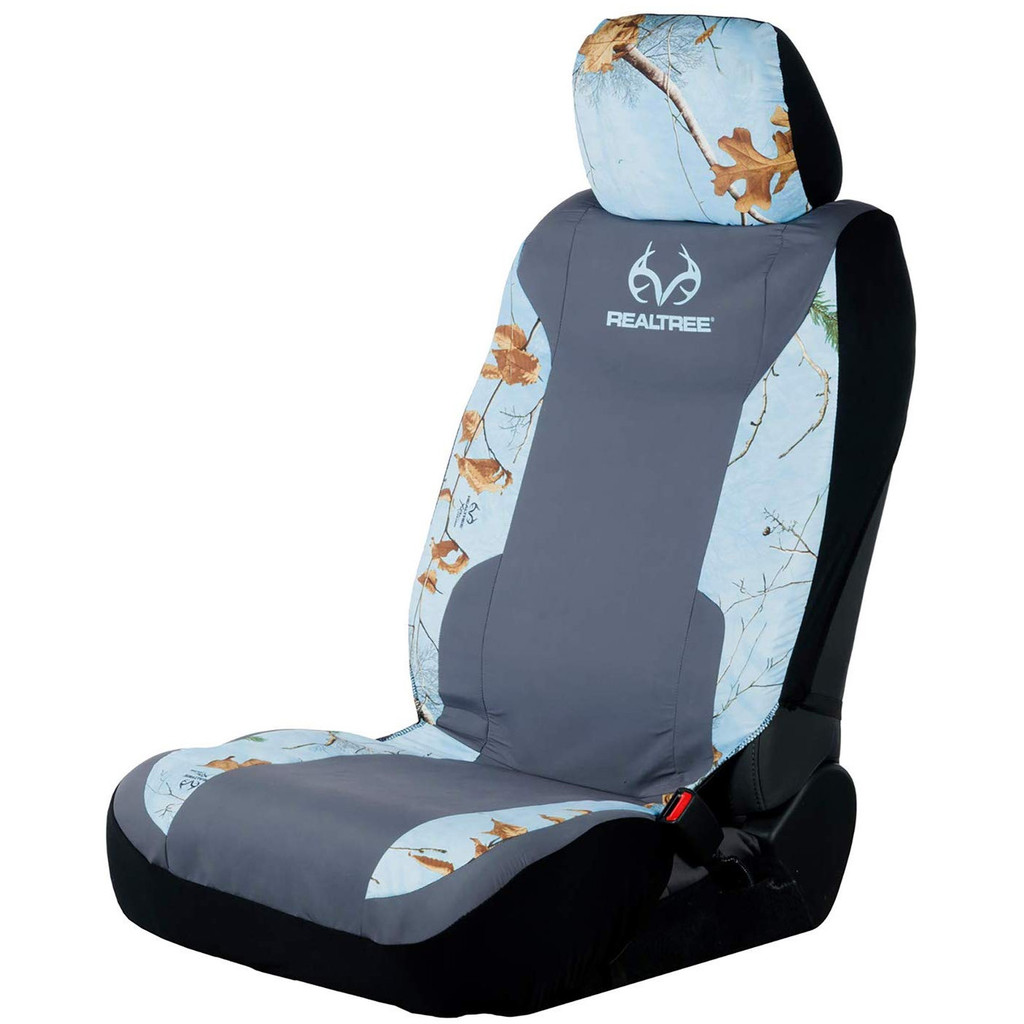 Realtree  Ice Blue Lowback Seat Cover