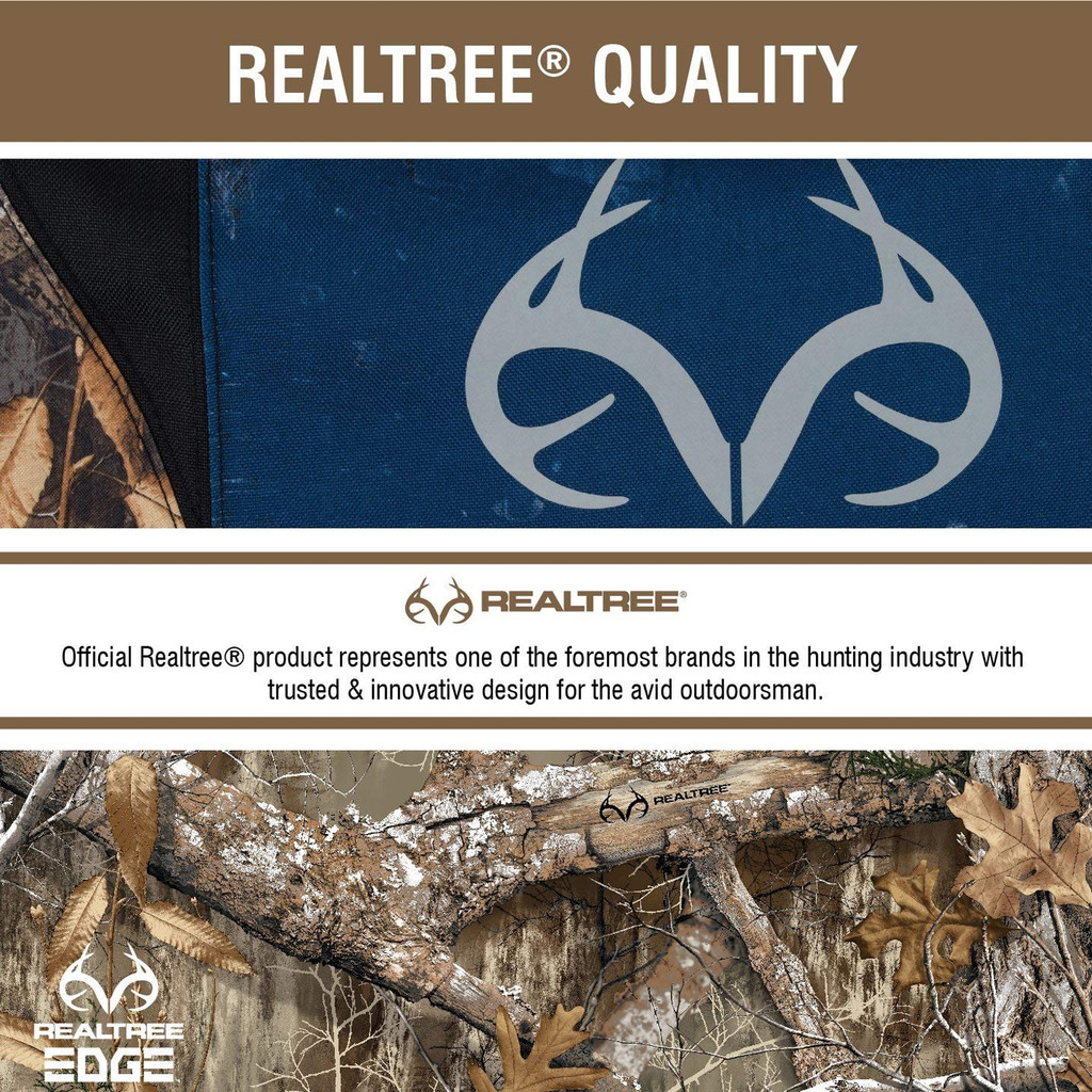 Realtree Edge/Americana Steering Wheel Cover  Information