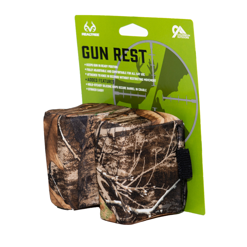 Realtree Edge Camo Gun Rest side package