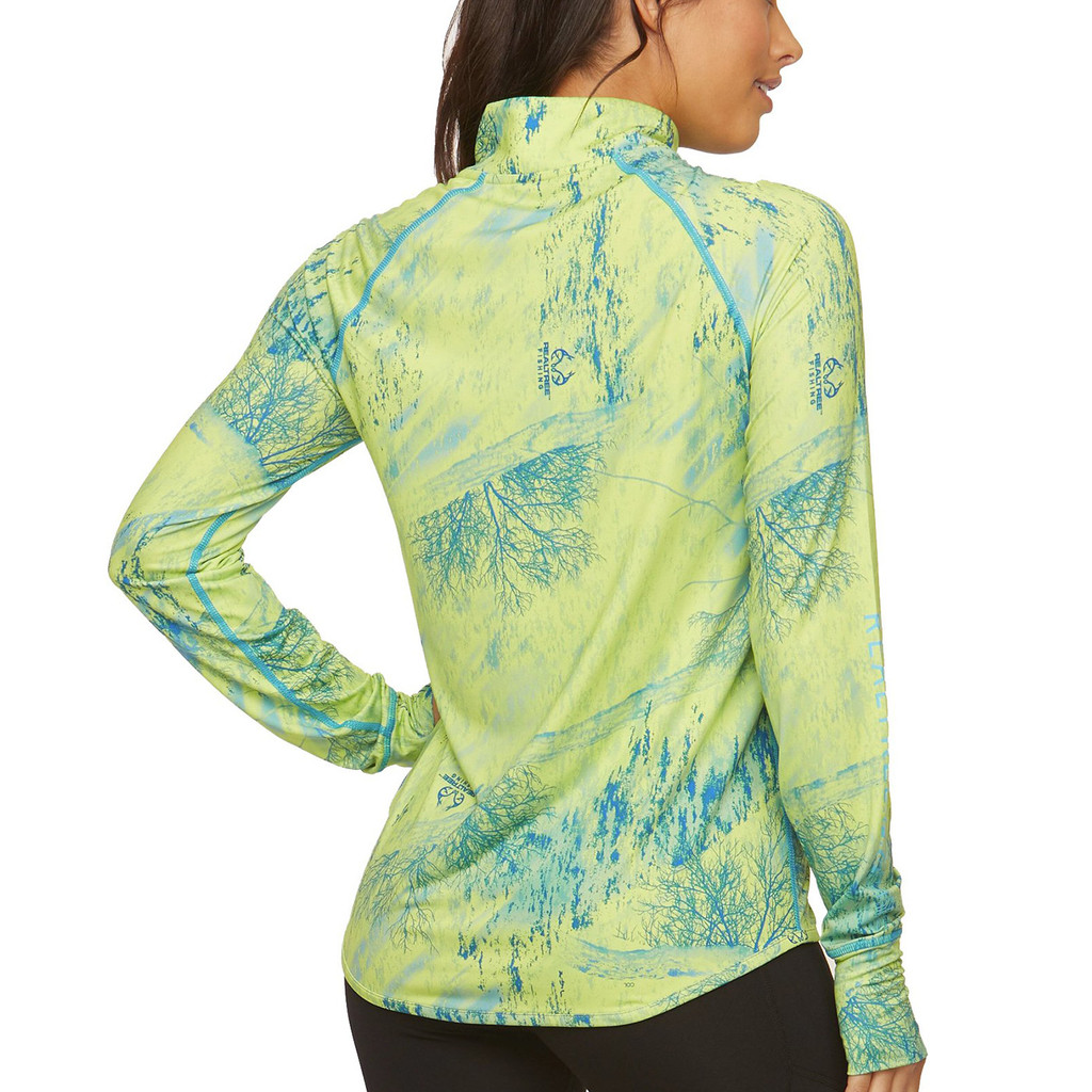 Low Country Performance 1/4 Zip Back