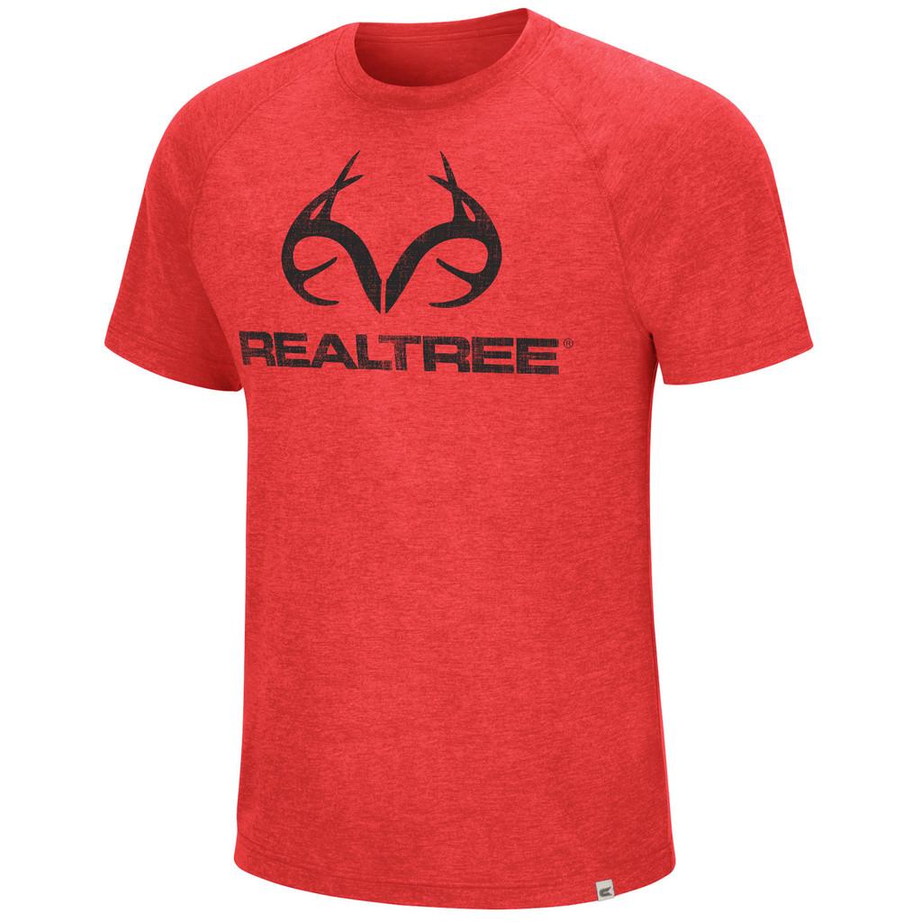 Men's Short Sleeve Red Shirt