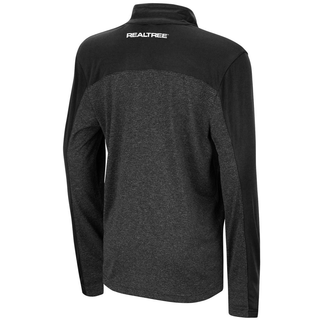 Boy's Quary 1/4 Zip Long Sleeve Windshirt Back
